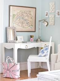 24 Fancy & Fabulous Feminine Office Design Ideas
