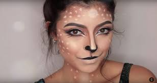 cute deer face paint video tutorial by stephanie suero