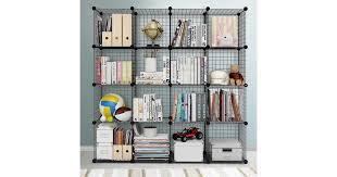 Artiss Wire Cube Storage Cabinet <b>DIY 16</b> Cubes Display Shelves ...