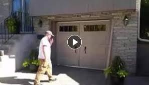 walk through garage door. The Walk Through Garage Door G