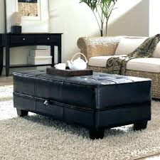 coffee table with 4 storage ottomans grey storage ottoman coffee table leather storage ottoman coffee table