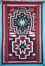 Image Storm Pattern Indiana Watsons Indian Weaving Navajo Rug Weaving And Design