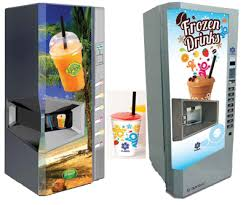 Vending Machine Makers Fascinating Novel Smoothie And Slushie Vending Machine Begins Global