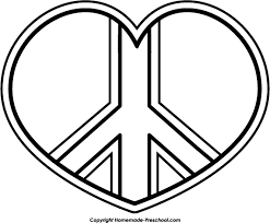 Small Picture Heart Peace Sign Coloring Pages Image Search Results Bebo Pandco