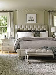 Oyster Bay Sag Harbor Tufted Upholstered Bed Ivory Bedroom Ideas Bedroom  Upholstered Cut Corner Headboard Bedroom