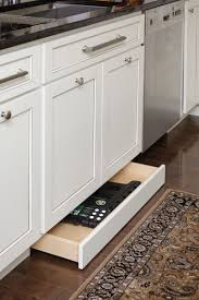 Storage Drawers In The Toekick Under The Cabinets For The Home In
