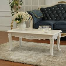 french provincial wooden coffee table