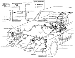 1967 mustang dash wiring diagram engine