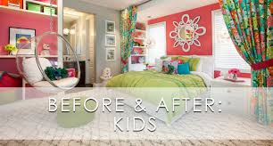 Kids Bedroom Hamptons Inspired Luxury Kids Girls Bedroom Before And After