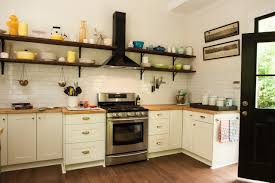 Rustic Kitchen Shelving The Benefits Of Open Shelving In The Kitchen Hgtvs Decorating