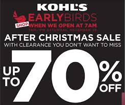 Kohl's After Christmas Sale + TONS of Stackable Codes and FREE ...