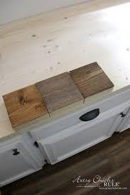 diy wooden countertops how to make diy wood countertop choosing stains artsyrule diy wood kitchen countertops