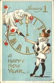 happy new years postcard free vintage christmas gift tags public domain conditioning and