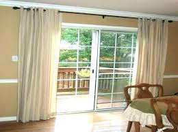 sliding glass door curtain shades curtains treatments coverings