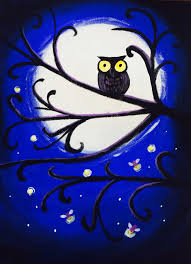 owl firefly patty vino and paint