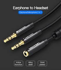 <b>Vention</b> 3,5 мм <b>Jack</b> микрофон гарнитуры <b>аудио</b> сплиттер <b>кабель</b> ...