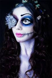 12 scary corpse bride makeup ideas for
