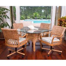 dining room sets with rattan chairs. indoor rattan and wicker dining sets room with chairs