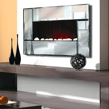 thin wall mount electric fireplace real flame slim