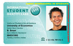 Discount Id Card Travel Sta Isic amp;