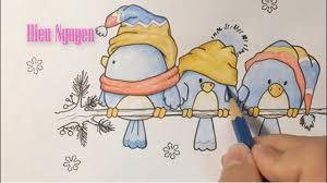 cute love bird drawing. Delighful Bird Cartoon Painting  Learn Drawing Cartoons Step  Cute Love Birds  With Bird R