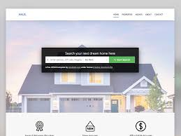 real state template haus free real estate html5 website template uicookies
