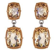 atelier swarovski rosie assoulin jewel y mchue y drop pierced earrings 5263596 1 of 5 see more