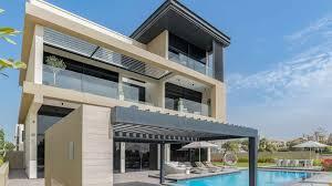 Home Golf Course Design A Trio Of Fine Golf Course Homes In Dubai Luxuryproperty Com