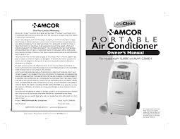 Amcor Air Conditioner Comp Light Amcor Air Conditioner Alw 12 User Manual Manualzz Com