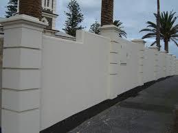 Small Picture Brick Wall Fence Designs Home Design Ideas