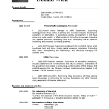 Resume In English Examples Resume English Examples Obfuscata inside Resume In English Sample 42