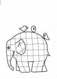 Elmer Coloring Page Coloring Home