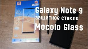 <b>Защитное стекло</b> для Galaxy Note 9 - Mocolo Tempered Glass ...