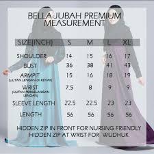 Bella Ammara Size Chart Bella Ammara Bella Jubah Premium 2014 Muslimah Fashion On