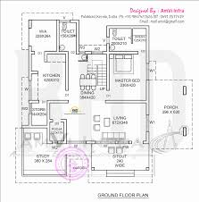 elevation and floor plan of contemporary home kerala home design and floor plans