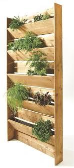 herb garden wall planters outdoor