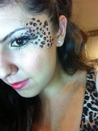 did my own makeup for a magazine shoot cheetah print is always in