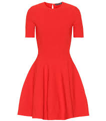 Alexander Mcqueen Dress Size Chart Fit And Flare Minidress