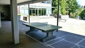 concrete table tennis fabulous outdoor