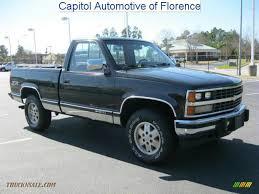 1989 Chevrolet C/K K1500 Scottsdale Regular Cab 4x4 in Onyx Black ...