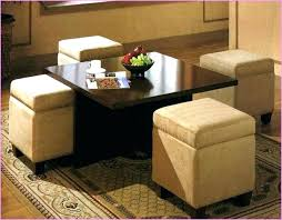 coffee table with seating underneath coffee table with ottomans underneath the most round coffee table ottomans