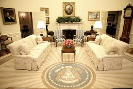 bush oval office. Oval Office Decor. Decor E Bush T
