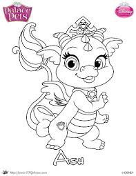Small Picture Free Princess Palace Pets Coloring Page of Ash SKGaleana