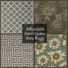 affordable indoor outdoor area rugs