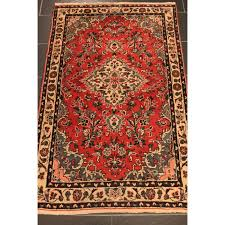 semi antique persian carpet hamadan 165x105cm madi in iran around 1960 best highland wool tappeto tapis
