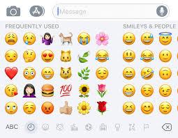 emoji text how to unlock the hidden iphone emoji keyboard and the best