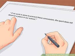 how to write the last sentence in a paper pictures  image titled write the last sentence in a paper step 3