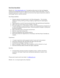 Extraordinary Hair Stylist Resume Examples Also Objective For