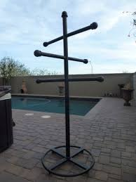 Outdoor Coat Rack For Hot Tub