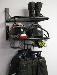Motorcycle Coat Rack Motorcycle Motorbike Clothing Jacket Helmet Gloves Storage Rack 30